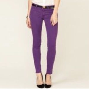 Rich & Skinny Denim - Rich and Skinny Purple jeans