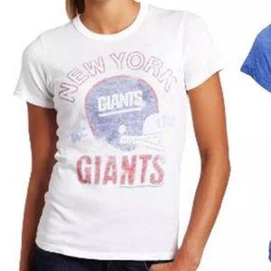 Junk Food Clothing Tops - NY GIANTS junk food originals tee tshirt vintage