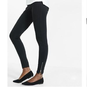 Express Pants - EXPRESS leggings with zipper accents!