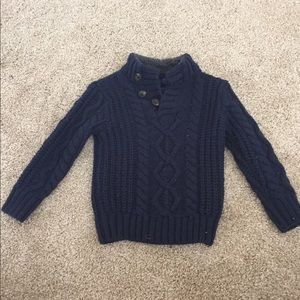 Baby gap toddler boy cable sweater