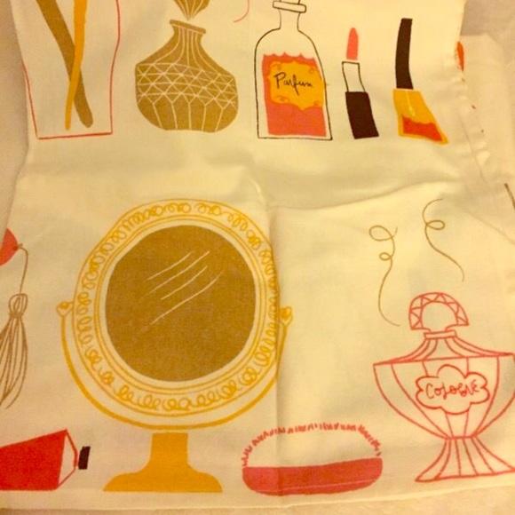 Danica Studio Girly Cotton Shower Curtain Makeup