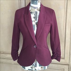 Maroon/Burgundy blazer