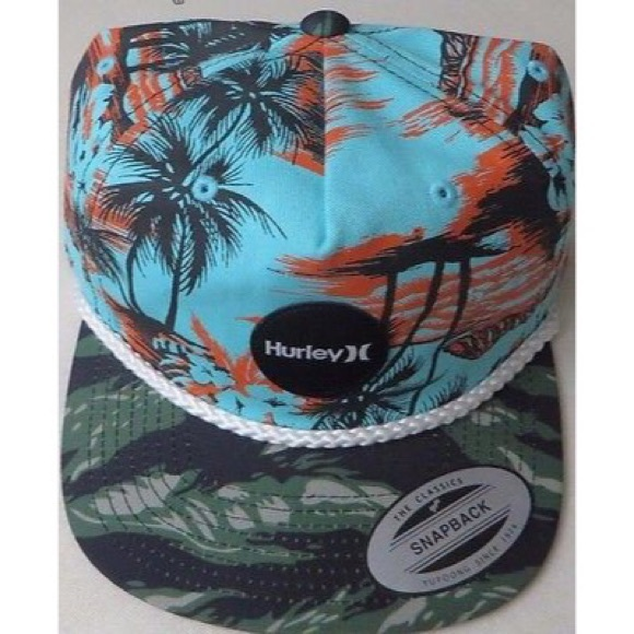 best website 38ce7 8480a 🌟HURLEY The Classics Yupoong Hawaii Camo Hat