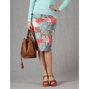 Boden Dresses & Skirts - Boden Floral Pencil Skirt