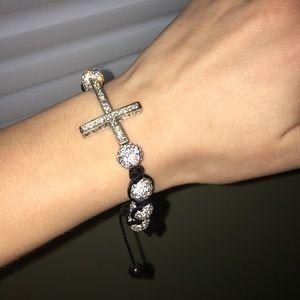 Jewelry - Cross bedazzled bracelet