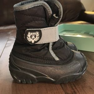Kamik Other - Almost new Kamik toddler snow boots