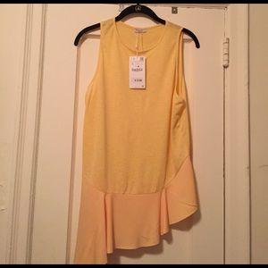 Zara Tops - Zara new asymmetric top
