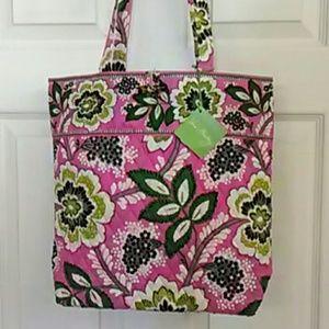 Vera Bradley Handbags - Rare Vera Bradley tote NWT Priscilla Pink