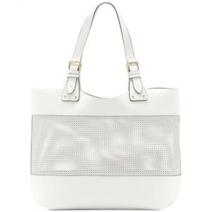 Vince Camuto Perforated Tote White $248