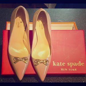 Kate Spade nude pumps size 8