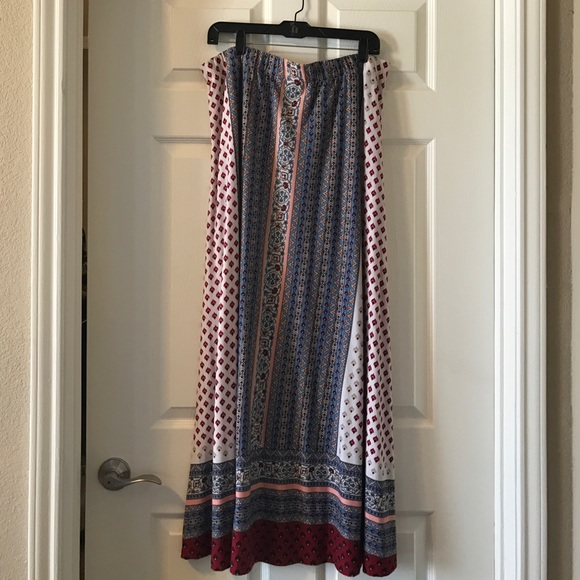 79086950bf0 Cato Dresses   Skirts - Cato boho maxi skirt 18 20 plus size 2X -