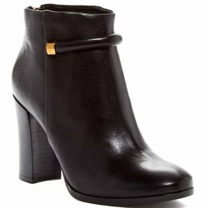 aerin Shoes - Aerin 'Fuller' Black Leather Booties