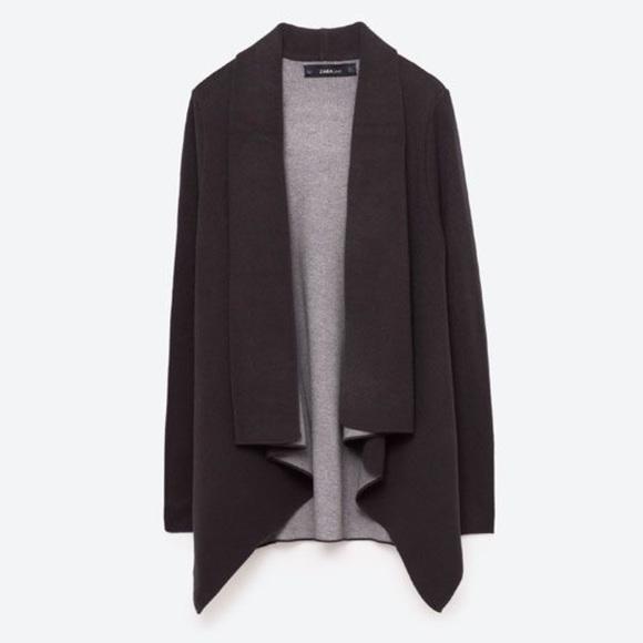 8a0a2fcbea Zara Two Tone Knit Sweater. M 58a08d0113302aadde008a45