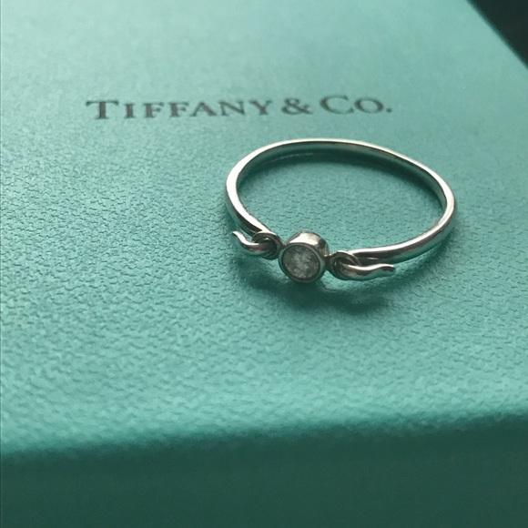 13b9ef26c Tiffany & Co. Jewelry | Tiffany Co Sterling Silver Swan Ring W ...