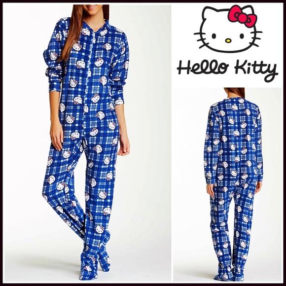feb7660fd Hello Kitty Intimates & Sleepwear | 1hour Sale Pajamas Jumper Pj ...