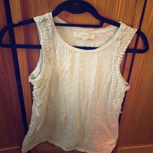 LOFT Tops - Cotton Loft tank