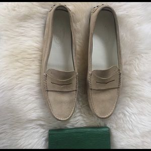 Tod's Shoes - Tods suede driving loafers tan 40 used