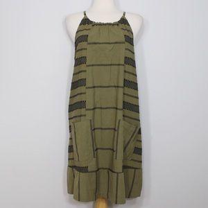 Old Navy Dresses & Skirts - ❗️FINAL PRICE❗️ Old Navy Olive Patterned Dress