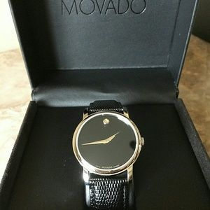 Movado  Accessories - NWT Movado Women's Leather Band watch