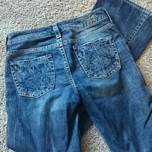 Silver jeans size 27 excellent condition.