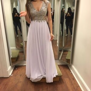 Camilla Dresses & Skirts - Gorgeous White Prom Dress 2016