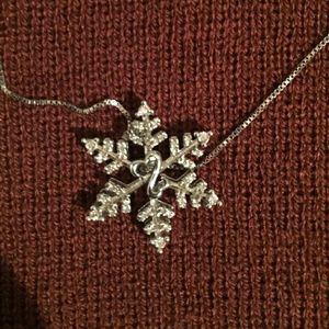 Kay Jewelers Jewelry - Open Hearts Snowflake Necklace