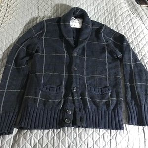 American Eagle Outfitters Other - Shawl Collar cardigan grandpa sweater