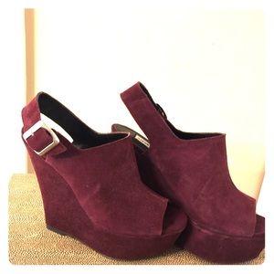 purple steve madden platform heels on Poshmark