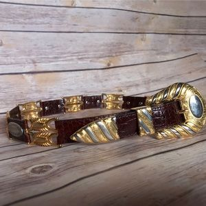 Vintage Leather Belt