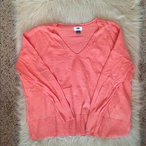 Peach light weight sweater