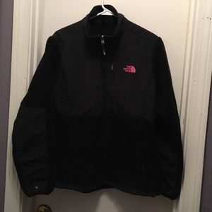 The North Face fleece sweater size L