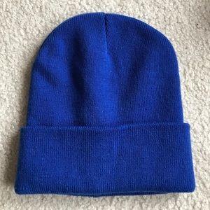 JCREW cobalt blue beanie