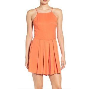 1. State Dresses & Skirts - NWT 1. State Bauhaus Beauty orange romper