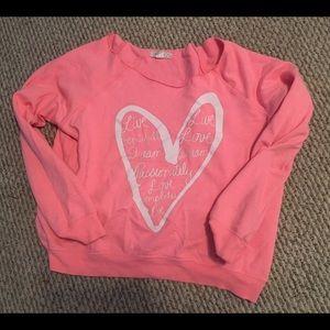 Pink cozy sweatshirt 💖