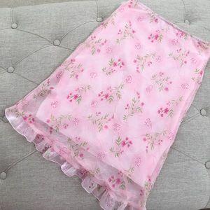 rave Dresses & Skirts - Rave Pink Floral Skirt