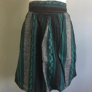 Vintage bubble skirt with pockets sz S