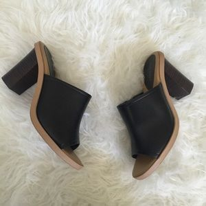 Old Navy Black Mules