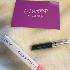 Colourpop Other - Colourpop Ulta glossy lip in metallic crystal ball
