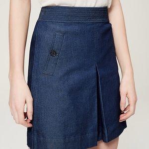 New loft 00 denim skirt