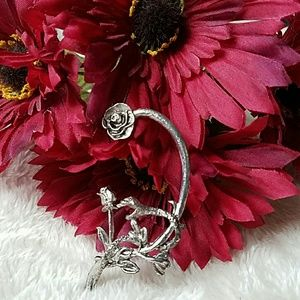Hot Topic Jewelry - FREE With Purchase!  Snake and Rose Ear Cuff