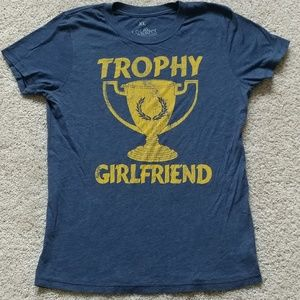 local celebrity Tops - LOCAL CELEBRITY *TROPHY GIRLFRIEND* NOVELTY TSHIRT