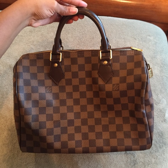 ec98bdcfc0d2 Louis Vuitton Handbags - Damier Ebene Speedy 30