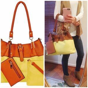 Black Rivet Handbags - 🎉HOST PICK🎉Black Rivet Bag!😍👜 NWT!