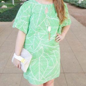 Hutch Design Palm Print Dress!
