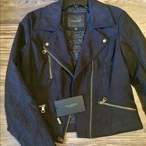 Andrew Marc Jackets & Blazers - NWT Marc New York Andrew Marc Black Moto Jacket