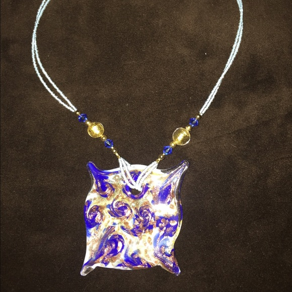 Direct from Venice, Italy. Glass Choker