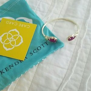 Kendra Scott Ruby Colored Bracelet New in Bag