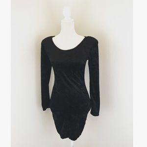 Vintage Dresses & Skirts - Sale! Vintage Crushed Velvet Bodycon Dress
