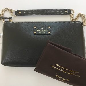 Kate Spade Byrd Wellesley Black WKRU1427 NWT