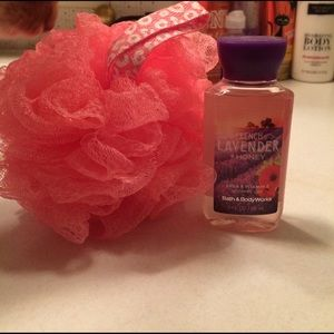 Bath and Body Works Other - Bath and Body Works loofa and body wash bundle